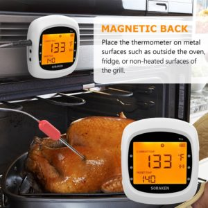 Soraken Wireless Meat Thermometer