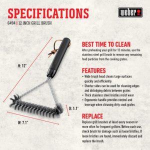 Weber Side Grill Brush