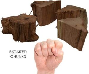 BBQ Grill Flavored Wood Chunks