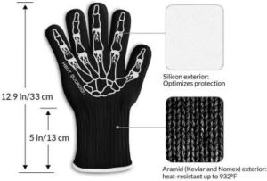 extreme high heat resistant gloves